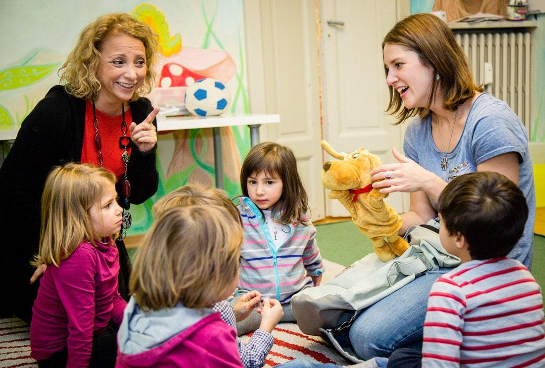 Corsi di inglese ad Aosta per bambini Dai 3 ai 5 anni