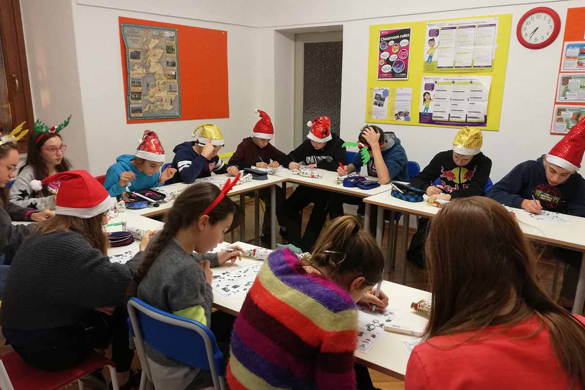 scuola inglese butterfly