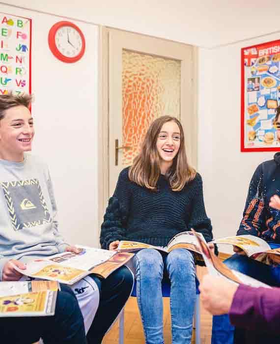 corsi di inglese per ragazzi in valle d'asoat